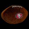 NFL San Francisco 49ers 3D Football Pillow