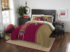 NFL San Francisco 49ers Full Comforter and 2 Shams