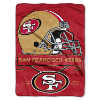 NFL San Francisco 49ers 60x80 Super Plush Throw Blanket