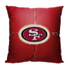 NFL San Francisco 49ers 18x18 Letterman Pillow