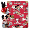 NFL San Francisco 49ers Disney Mickey Mouse Hugger