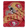 NFL San Francisco 49ers 50x60 Raschel Throw