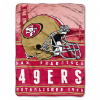 NFL San Francisco 49ers 60x80 Silk Touch Raschel Throw Blanket