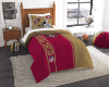 NFL San Francisco 49ers Twin Comforter with Sham