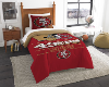 NFL San Francisco 49ers Twin Comforter Set