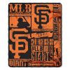 MLB San Francisco Giants 50x60 Fleece Throw Blanket