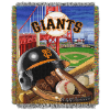 MLB San Francisco Giants Home Field Advantage 48x60 Tapestry Throw