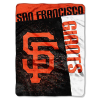 MLB San Francisco Giants 60x80 Super Plush Throw Blanket