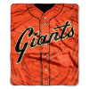 MLB San Francisco Giants 50x60 Raschel Throw