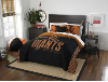 MLB San Francisco Giants QUEEN Comforter and 2 Shams