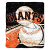 MLB San Francisco Giants SHERPA 50x60 Throw Blanket