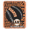 MLB San Francisco Giants 48x60 Triple Woven Jacquard Throw