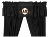 MLB San Francisco Giants Valance - Locker Room Series