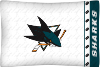 NHL San Jose Sharks Micro Fiber Pillow Cases (set of 2)