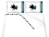 NHL San Jose Sharks Micro Fiber Bed Sheets