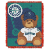 MLB Seattle Mariners Baby Blanket