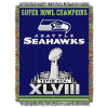 NFL Seattle Seahawks Commemorative 48x60 Tapestry Throw