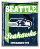 NFL Seattle Seahawks Sherpa MINK 50x60 Throw Blanket