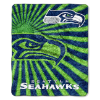 NFL Seattle Seahawks Sherpa STROBE 50x60 Throw Blanket