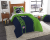 NFL Seattle Seahawks TWIN Size Bed In A Bag