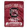 NCAA South Carolina Gamecocks 50x60 Micro Raschel Throw