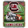 NCAA South Carolina Gamecocks Home Field Advantage 48x60 Tapestry Throw
