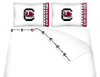 NCAA South Carolina Gamecocks Micro Fiber Bed Sheets