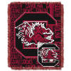 NCAA South Carolina Gamecocks FOCUS 48x60 Triple Woven Jacquard Throw
