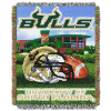 NCAA South Florida Bulls Home Field Advantage 48x60 Tapestry Throw