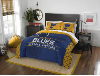 NHL St. Louis Blues QUEEN Comforter and 2 Shams