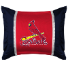 MLB St. Louis Cardinals Pillow Sham - Sidelines Series