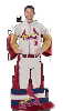 MLB St. Louis Cardinals Uniform Huddler Blanket With Sleeves