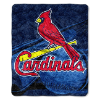 MLB St. Louis Cardinals SHERPA 50x60 Throw Blanket