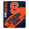 NCAA Syracuse Orange 50x60 Fleece Throw Blanket