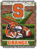 NCAA Syracuse Orange Home Field Advantage 48x60 Tapestry Throw