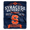 NCAA Syracuse Orange 50x60 Raschel Throw Blanket