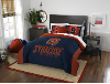NCAA Syracuse Orange QUEEN Comforter and 2 Shams