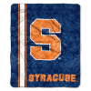 NCAA Syracuse Orange Sherpa 50x60 Throw Blanket