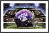NCAA TCU Horned Frogs Amon G. Carter Stadium Mosaic