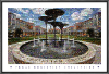 NCAA TCU Horned Frogs Frog Fountain Mosaic