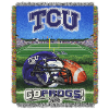 NCAA TCU Horned Frogs Home Field Advantage 48x60 Tapestry Throw