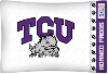 NCAA TCU Horned Frogs Micro Fiber Pillow Cases (set of 2)