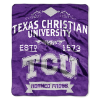 NCAA TCU Horned Frogs 50x60 Raschel Throw Blanket