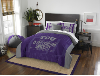 NCAA TCU Horned Frogs QUEEN Comforter and 2 Shams