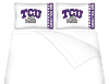 NCAA TCU Horned Frogs Micro Fiber Bed Sheets