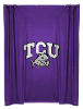NCAA TCU Horned Frogs Shower Curtain