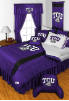 NCAA TCU Horned Frogs Comforter - Sidelines Series