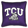 NCAA TCU Horned Frogs Pillow - Sidelines Series