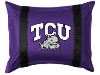 NCAA TCU Horned Frogs Pillow Sham - Sidelines Series