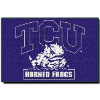 NCAA TCU Horned Frogs 20x30 Tufted Rug